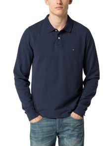 Tommy Hilfiger Long Sleeve Polo Top