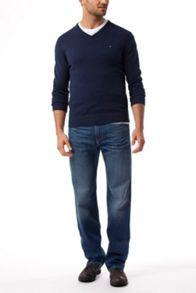 Tommy Hilfiger Pima Cashmere V-Neck Sweater