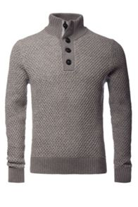 Tommy Hilfiger Tylor Button Mock Jumper