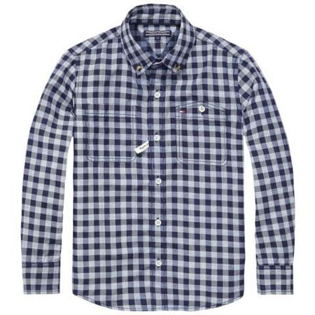 Tommy Hilfiger Boys Double Check Shirt