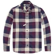 Boys High Check Shirt