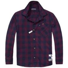 Boys Kick Gingham Shirt