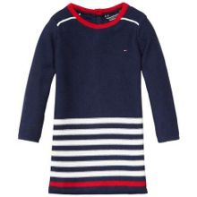 Tommy Hilfiger Girls Fran Stripe Dress
