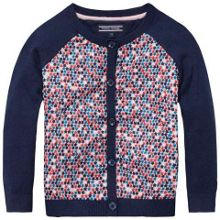 Girls Ellis Star Cardigan