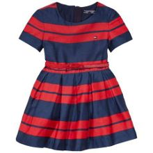 Tommy Hilfiger Girls Emy Stripe Dress
