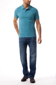 Slim Fit Polo Top