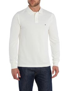 Long Sleeve Polo Top