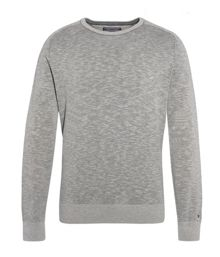 Tommy Hilfiger Plaited sub cashmere blend jumper