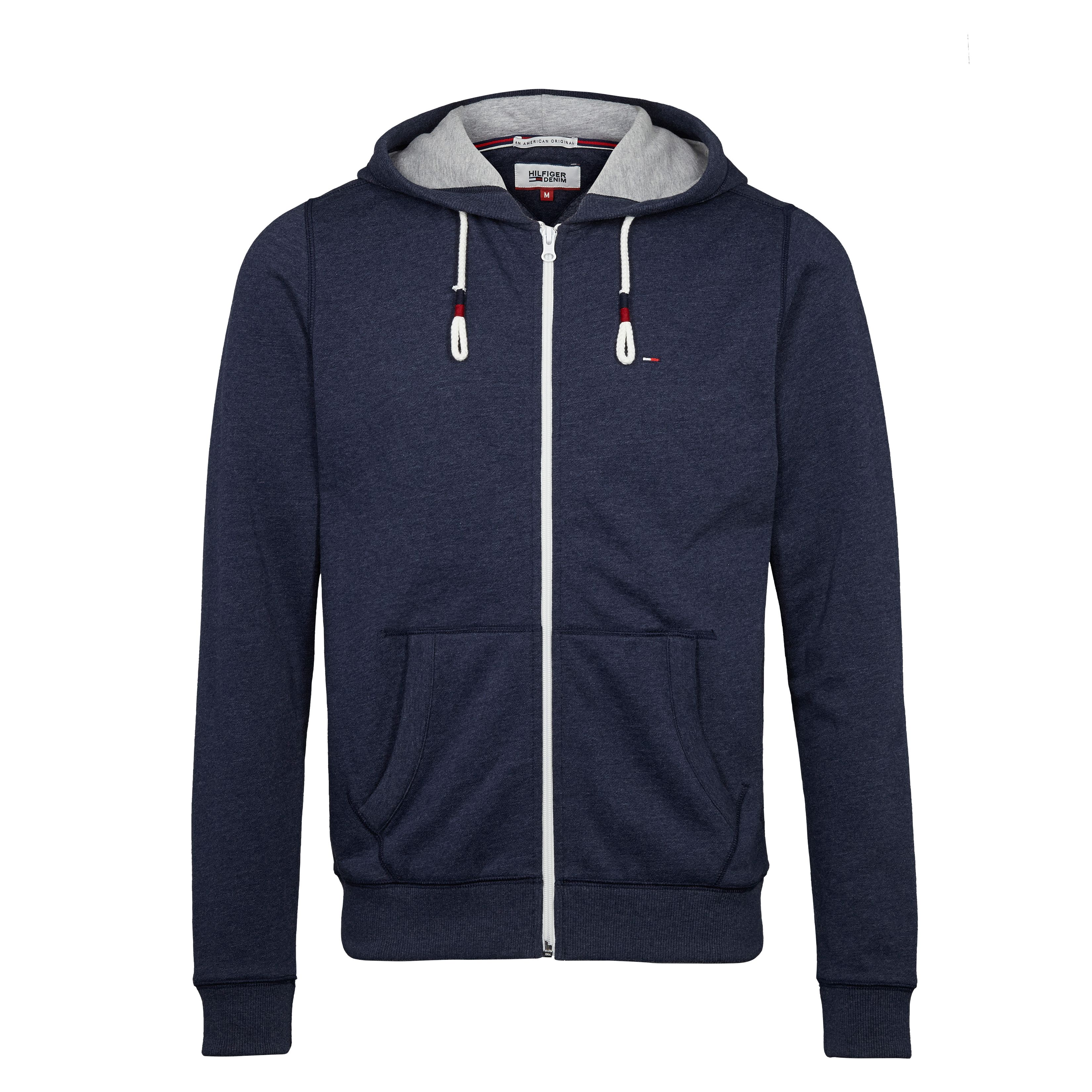 Men's Tommy Hilfiger Original Zip Through Hoody, Blue
