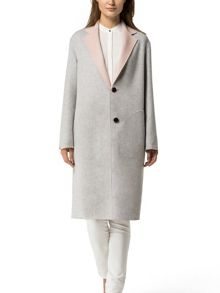 Tommy Hilfiger Giselle Reversible Wool Coat