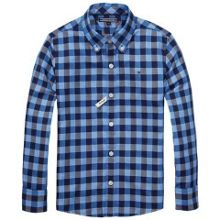 Boys Multi Gingham Shirt