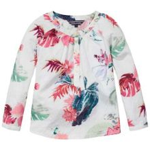 Girls Dominica Flower Top