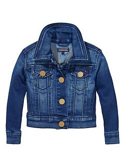 Tommy Hilfiger Girls Vivianne Denim Jacket