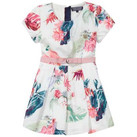Tommy Hilfiger Girls Dominica Flower Dress