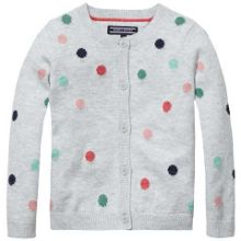 Tommy Hilfiger Girls Dot Mini Cardigan