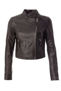 Tommy Hilfiger Leather Biker Jacket