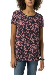 Tommy Hilfiger Printed Viscose Top