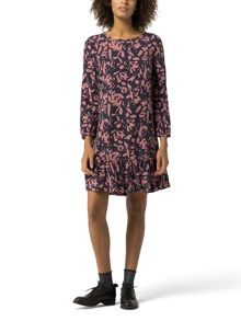 Tommy Hilfiger Gathered Hem Dress