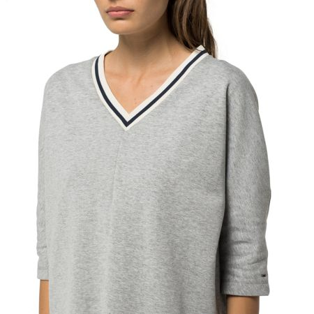 Tommy Hilfiger Scuba V-knit Top