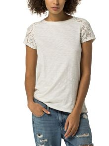 Tommy Hilfiger Basic Lace Top
