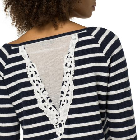 Tommy Hilfiger Waffle Lace Top
