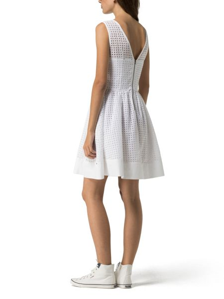 Tommy Hilfiger Gathered Skirt Dress