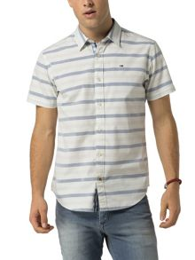 Tommy Hilfiger Poplin Check Shirt