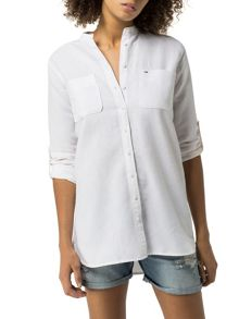Tommy Hilfiger EUR Cotton Linen Tunic