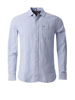 EUR cotton linen Shirt