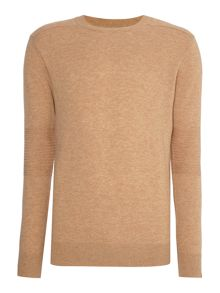 Scotch & Soda Classic Rib Knit Crew Neck Jumper