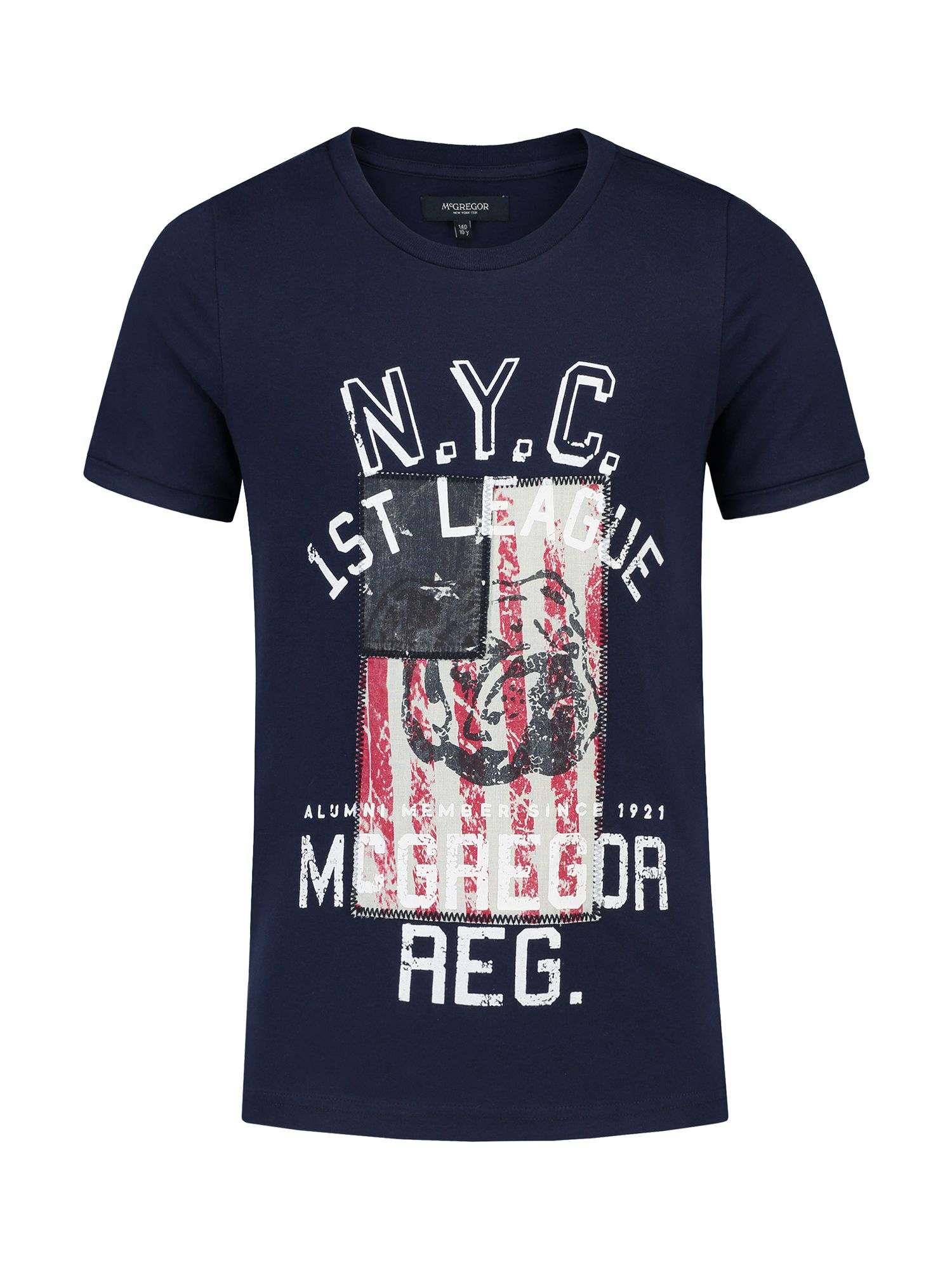 McGregor McGregor Boys T-shirt Cody Flag, Navy