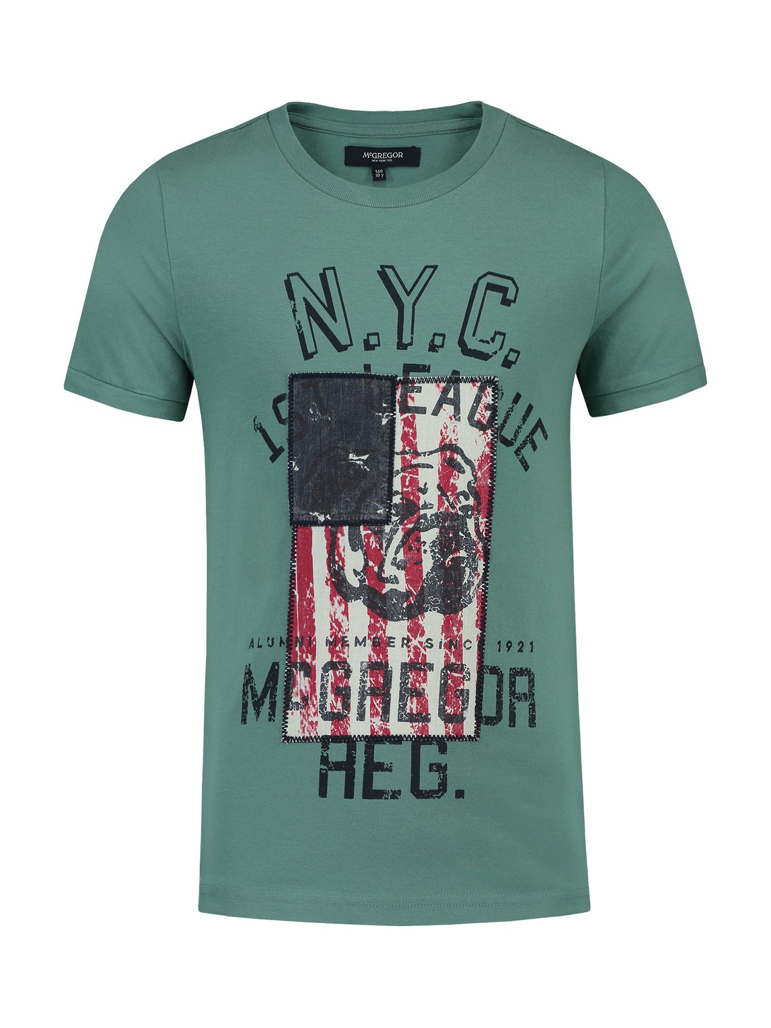 McGregor McGregor Boys T-shirt Cody Flag, Green