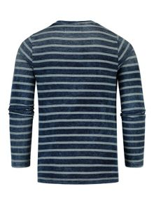 McGregor Boys T-shirt Indigo Stripe