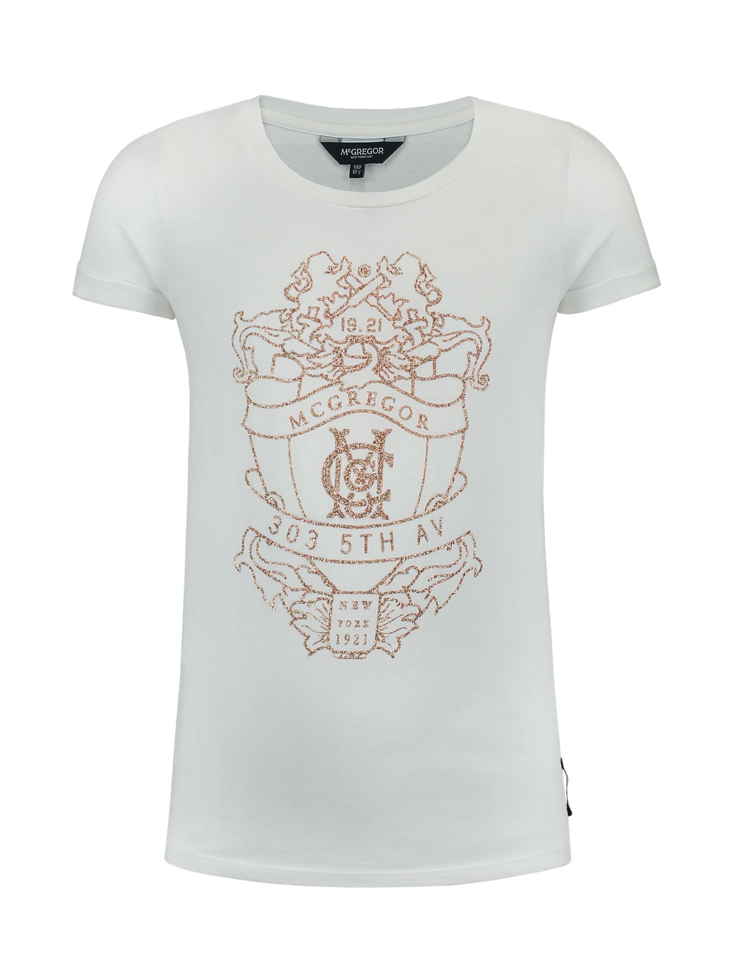McGregor McGregor Girls T-shirt Nicky McG, White