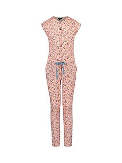 Girls Jumpsuit Pia Flower
