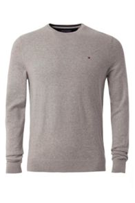 Tommy Hilfiger Cotton Linen Crew Neck Jumper