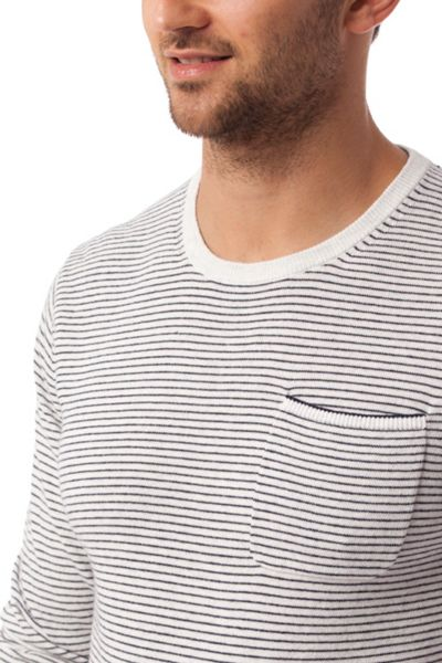 Tommy Hilfiger Cotton Linen Stripe Jumper