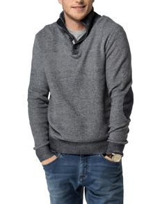 Tommy Hilfiger Carson Button Mock Jumper