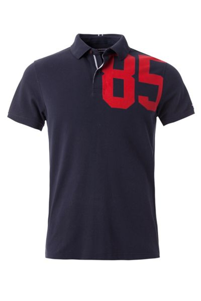 Tommy Hilfiger Adel Print Polo Top