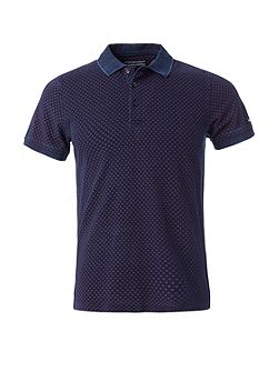 Bernhard Print Polo Top