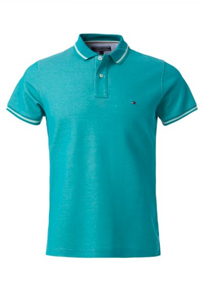 Tommy Hilfiger Contrast Polo Top