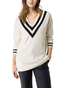 Tommy Hilfiger Hilda V-neck Sweater