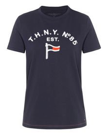 Tommy Hilfiger Raised TH Flag T-shirt