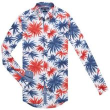 Tommy Hilfiger Multi Leaf Print Shirt