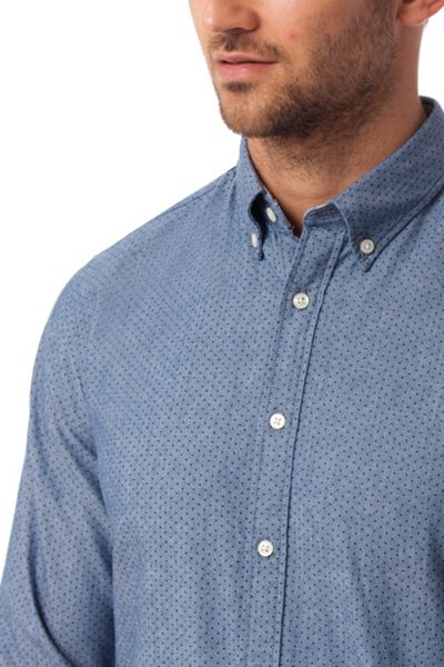 Tommy Hilfiger Chambray Dot Print