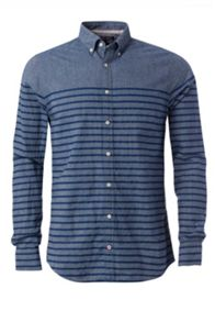 Tommy Hilfiger Stripe Print Chambray Shirt