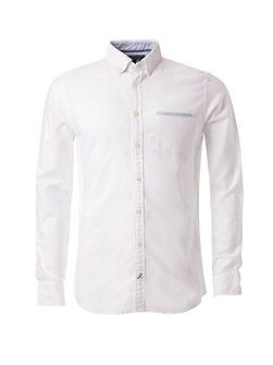 Ithaca Binding Oxford Shirt