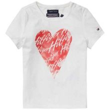 Tommy Hilfiger Girls Heart T-shirt