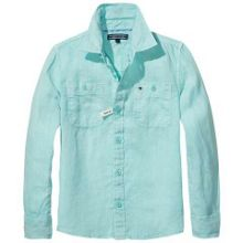 Tommy Hilfiger Boys Cotton Linen Shirt