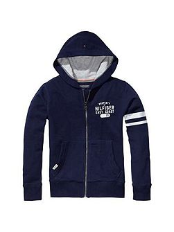 Boys Tommy Zip Through Hoody
